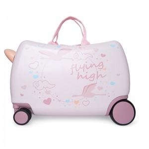 Maleta Tuc Tuc Trolley de Viaje Lady Bird Rosa