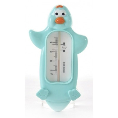 Termómetro  de  baño  Pinguino  Azul