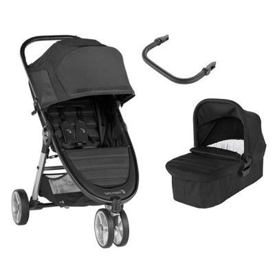 Carrito Dúo Baby Jogger City Mini 2 3 ruedas