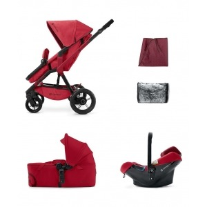Cochecito Concord Wanderer 2016 Mobility Set Ruby Red