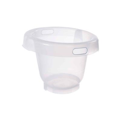 Cubo anticólico transparente para baño de Bébéjou