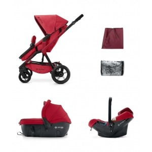 Cochecito Concord Wanderer 2016 Travel Set Ruby Red