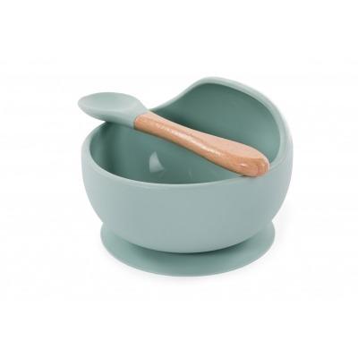 Bowl Silicona con ventosa y cuchara de Bo Jungle