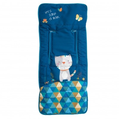Colchoneta ligera Kitty Azul