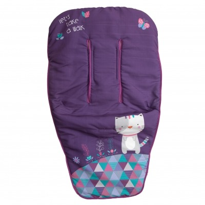 Funda de silla Kitty Morado