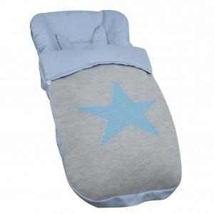 Saco de silla Snow Azul