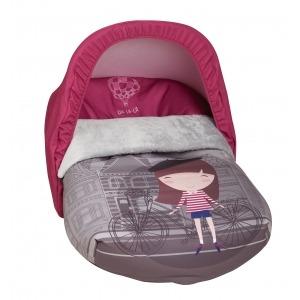 Saco Porta bebé Oh-la-la (capota no incluida)