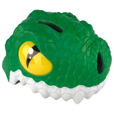 Casco de Seguridad Crazy Safety Cocodrilo Verde