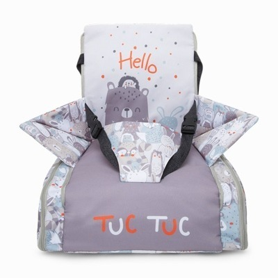 Trona Portatil de Tuc Tuc TT&Friends Gris