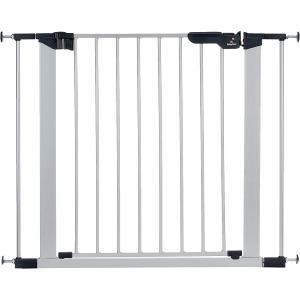 Barrera de Puerta Babydan Asta Supreme Plata