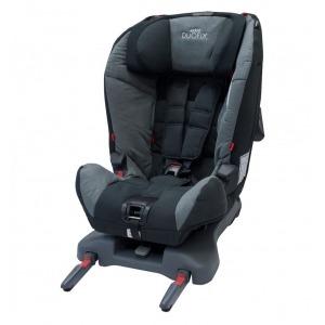 Silla de coche Grupos 1 y 2 Axkid Duofix Tetris Gris Negro + Espejo retrovisor + Organizador de asiento