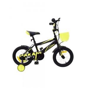 Bicicleta para niños Makani 14`` Diablo Negro-Amarillo