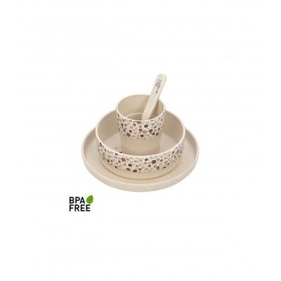 Vajilla de Dish Set PP/Celulosa Tiny Nature
