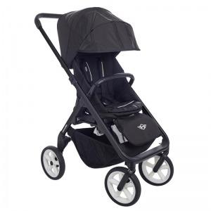 Cochecito Easywalker Mini Stroller New Black ruedas blancas