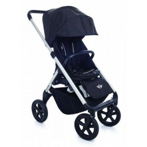 Cochecito Easywalker Mini Stroller New Silver ruedas negras