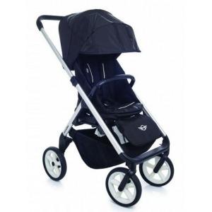 Cochecito Easywalker Mini Stroller New Silver ruedas blancas