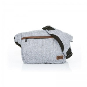 Bolso Abc Design Courier Graphite Grey