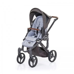 Silla de paseo Abc Design Mamba Plus 2016 Cloud + Asiento Graphite Grey Cloud + manoplas