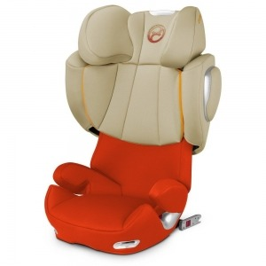 Silla de coche grupo 2/3 Cybex Solution Q2-Fix 2016 Autumn Gold