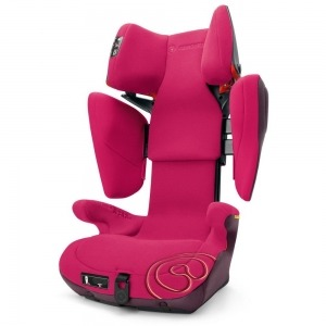 Silla de Coche de los Grupos 2 y 3 Concord Transformer X-Bag con Isofix Rose Pink