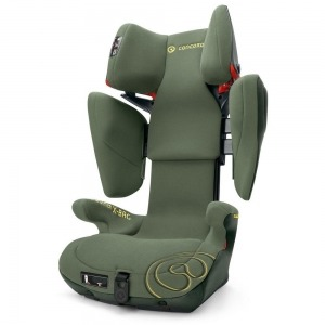 Silla de Coche de los Grupos 2 y 3 Concord Transformer X-Bag con Isofix Limited Jungle Green