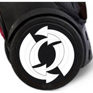 Pegatinas Wheel Stickers Arrows para Ruedas de Mochila Roller