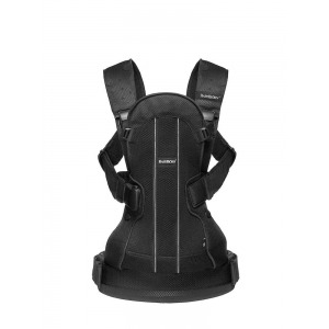 Mochila Babybjorn We Air Negra