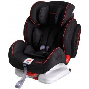 Silla de coche de los grupos 1, 2 y 3 Mondial Safe Canada Isofix Negra con vivo rojo