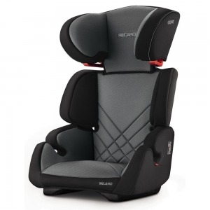 Silla de coche de los Grupos 2 y 3 Recaro Milano 2018 Carbon Black + Espejo Retrovisor