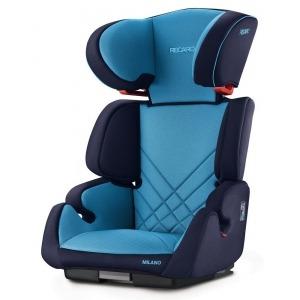 Silla de coche de los Grupos 2 y 3 Recaro Milano Seatfix 2018 Xenon Blue + Espejo Retrovisor