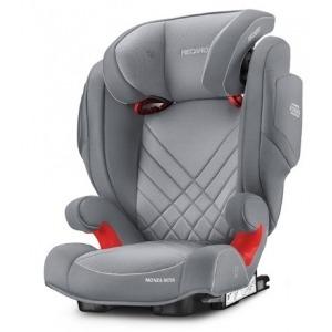 Silla de coche de los Grupos 2 y 3 Recaro Monza Nova 2 Seatfix 2019 Aluminium Grey