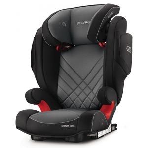 Silla de coche de los Grupos 2 y 3 Recaro Monza Nova 2 Seatfix 2019 Carbon Black