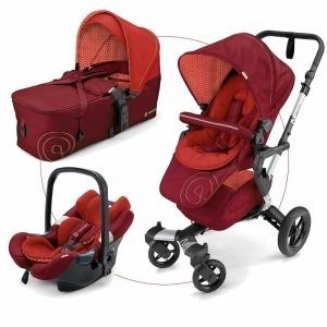 Cochecito Trio Concord Neo Mobility Set 2017 Flaming Red