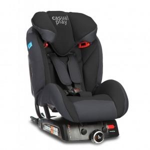 Silla de coche Casualplay Q-Retraktor 2018 Fix II Ebony