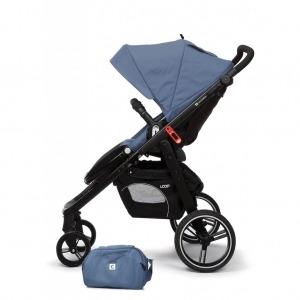 Cochecito de bebé Casualplay Loop Match 2 + Casualplay Cot + Bolso Lapis Lazuli