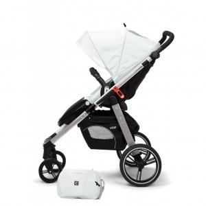 Cochecito de bebé Casualplay Loop Match 2 Aluminium + Casualplay Cot + Bolso Ice