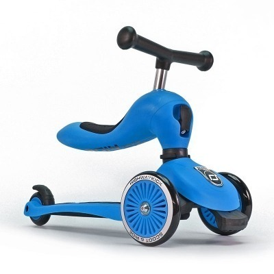 Patinete 2 en 1 Scoot And Ride Highwaykick One Azul
