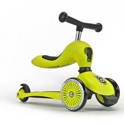 Patinete 2 en 1 Scoot And Ride Highwaykick One Lima