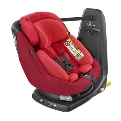 Silla de coche del Grupo 0-1 de Bebé Confort Axissfix Plus I-Size 2018 Vivid Red