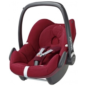 Silla de coche Grupo 0+ Bebé Confort Pebble Robin Red