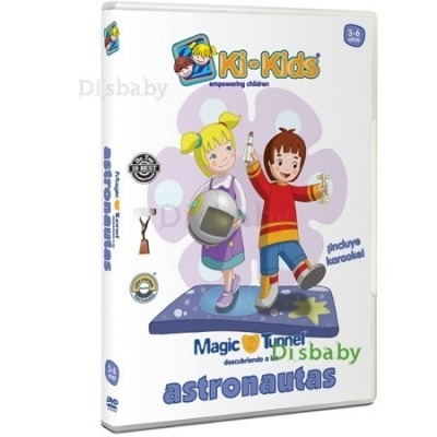 Dvd Ki Kids Astronautas