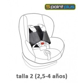 5 Point Plus Car Seat Anti Escape System 30 Months To 4 Years - Child Safety