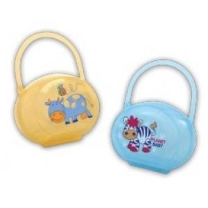 Caja Porta Chupete Planet Baby Vaquita