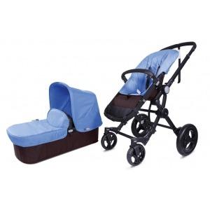 Cochecito Baby Ace Travel System Choco Turquesa