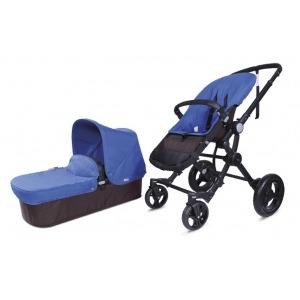 Cochecito Baby Ace Travel System Choco Azul