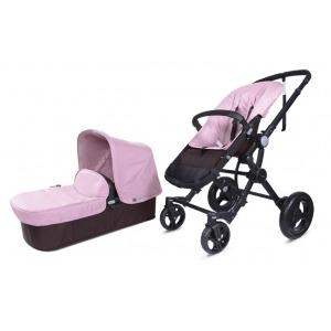 Cochecito Baby Ace Travel System Choco Rosa