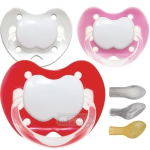 Pack 3 Chupetes Personalizados Trendy Nice Girl 0-6 Meses