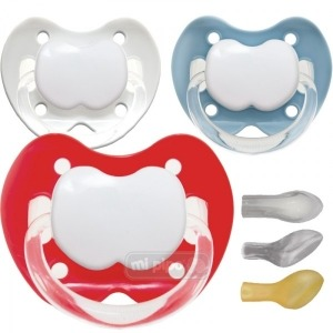 Pack 3 Chupetes Personalizados Trendy Nice Boy 0-6 Meses