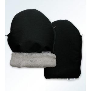 Manoplas para silla de paseo negro y gris Martines Campos