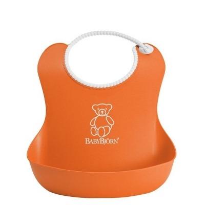 Babero Babybjorn Blando Naranja